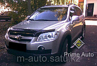 Мухобойка (дефлектор капота) на Chevrolet Captiva/Шевроле Каптива 2006-2011, фото 1