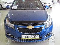 Мухобойка (дефлектор капота) на Chevrolet Cruze/Шевроле Круз, фото 1