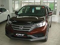 Мухобойка (дефлектор капота) на Honda CR-V(хонда цр-в) 2012-