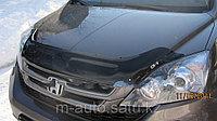 Мухобойка (дефлектор капота) на Honda CR-V /Хонда ЦР-В 2007-2009, фото 1