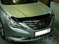 Мухобойка (дефлектор капота) на Hyundai Sonata/Хендай соната 2010-