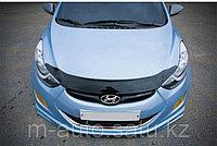 Мухобойка (дефлектор капота) на Hyundai Elantra/Хюндай Элантра 2011-, фото 1