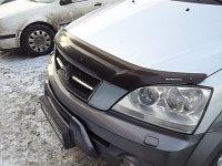 Мухобойка /дефлектор капота на Kia Sorento (киа соренто) 2003-2008, фото 1