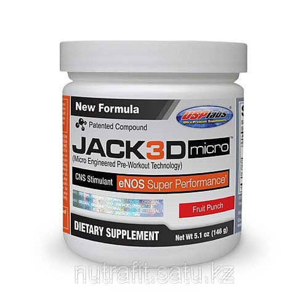 Предтренировочный комплекс Jack3d Micro (вкус Blue Raspberry) 5.1 oz 30 порций