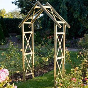 садовые арки, шпалеры и заборы декоративные