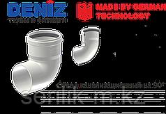 Отвод канализационный на 90°-DENIZ