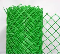 Решетка заборная в рулоне 1.5х25 м, ячейка 18х18 мм 64525