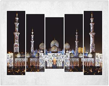 Модульная картина - Мечеть шейха Зайда