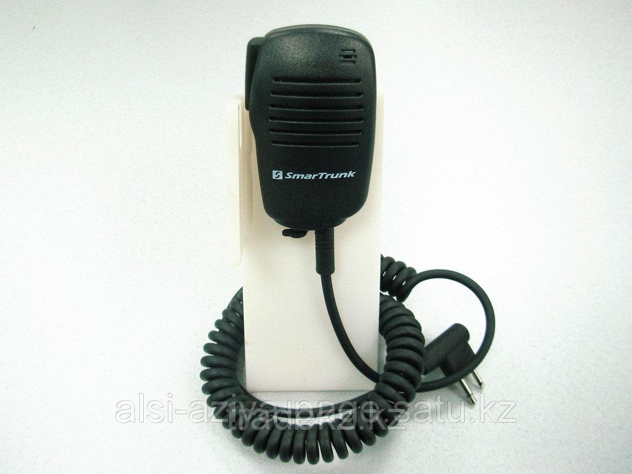 Микрофон SmarTrunk ST-0407 выносной, со встроенным динамиком для носимых радиостанций Kenwood