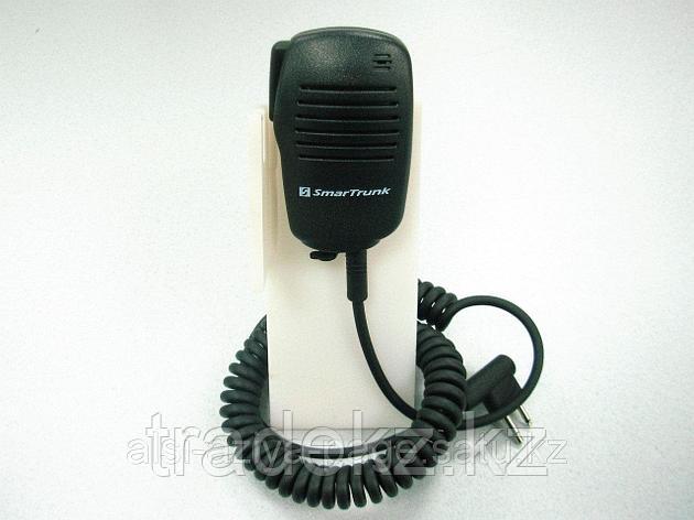Микрофон SmarTrunk ST-0407 выносной, со встроенным динамиком для носимых радиостанций Kenwood, фото 2
