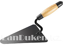 Кельма стальная для бетонщика с усиленной деревянной ручкой 86220 (002)