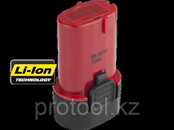 Батарея ЗУБР  аккумуляторная для дрелей-шуруповертов, 1,5А/ч, 7,2В, фото 2