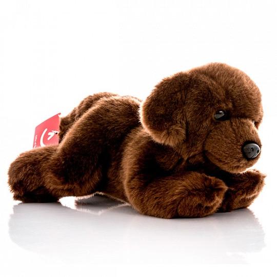 AURORA Игрушка мягкая Шоколадный лабрадор 28 см