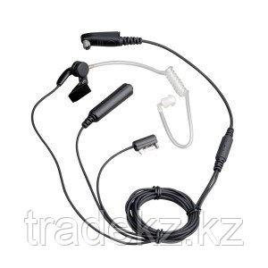 Гарнитура скрытоносимая 2-х проводная EAN02 с подвесным микрофоном и РТТ в руке для р/ст GP344/644/688