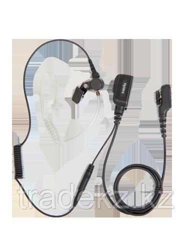 Гарнитура Hytera EAN23 скрытоносимая 2-х проводная с подвесным микрофоном и кнопкой РТТ для PD705/785, фото 2