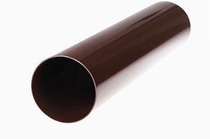 Водосточная труба  L-3.0 м (шоколад)