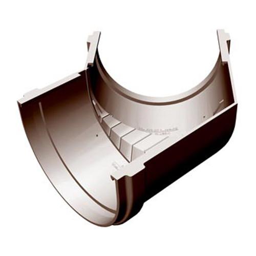 Угловой элемент желоба 135 (шоколад)