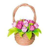 Набор для творчества 'Тюльпаны в корзинке'