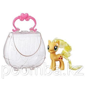"""My Little Pony""""Пони в сумочке""""Applejack"""