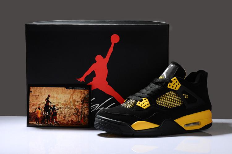 Баскетбольные кроссовки Nike Air Jordan 4 Retro - фото 2