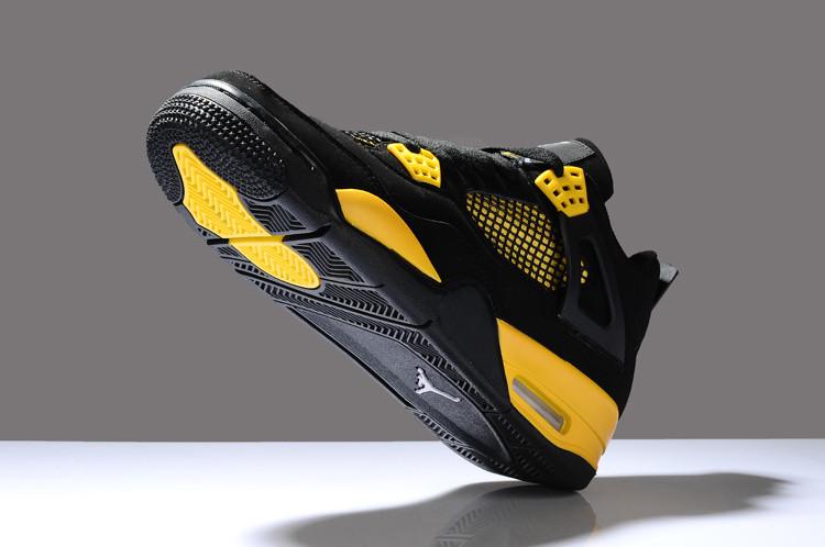 Баскетбольные кроссовки Nike Air Jordan 4 Retro - фото 3