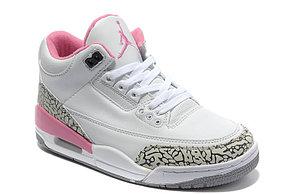 Женские баскетбольные кроссовки Nike Air jordan 3 ( III ) retro, фото 3