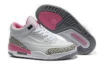 Женские баскетбольные кроссовки Nike Air jordan 3 ( III ) retro