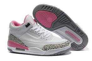 Женские баскетбольные кроссовки Nike Air jordan 3 ( III ) retro, фото 2