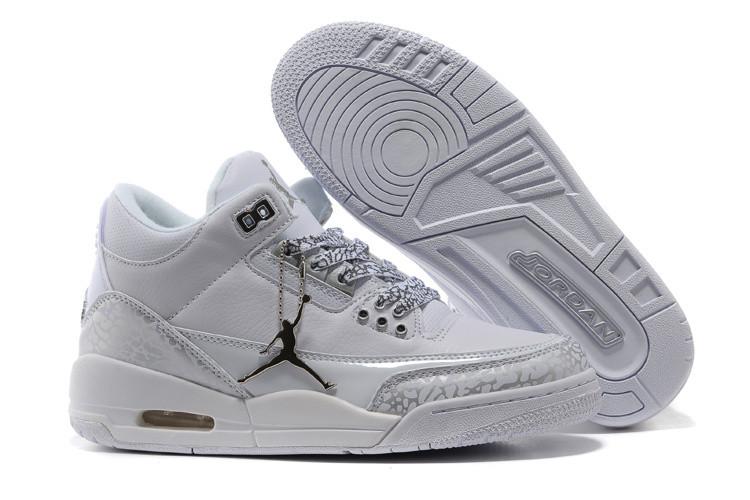 Женские баскетбольные кроссовки Nike Air jordan 3 ( III ) retro - фото 1