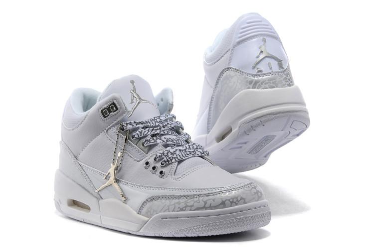 Женские баскетбольные кроссовки Nike Air jordan 3 ( III ) retro - фото 3