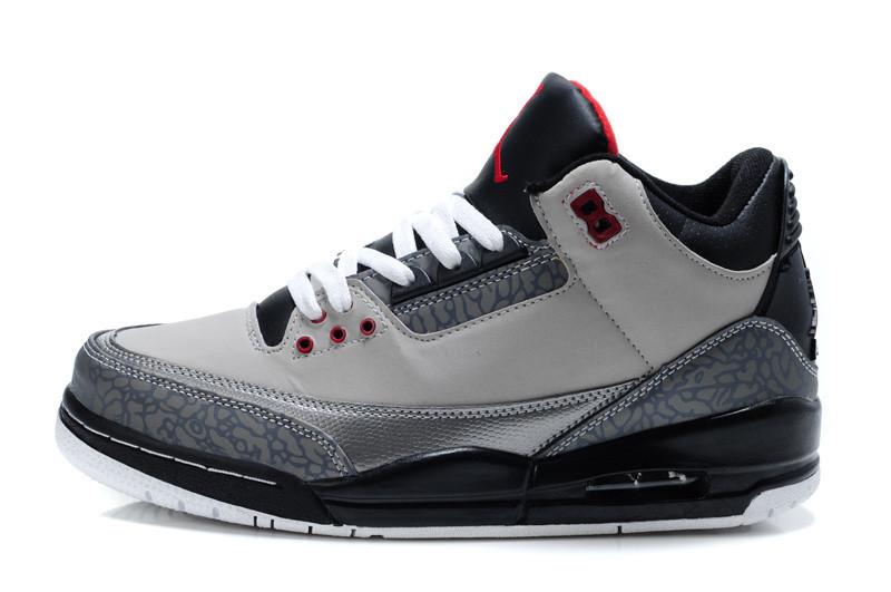 Баскетбольные кроссовки Nike Air jordan 3 ( III ) retro - фото 3