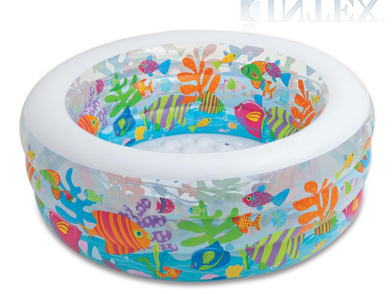 Надувной семейный бассейн Intex 58480, 152 х 56 см