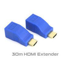 Удлинитель HDMI по витой паре (30м) EXTENDER, фото 1