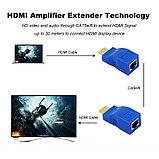 Удлинитель HDMI по витой паре (30м) EXTENDER, фото 3