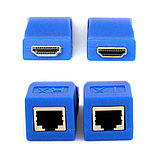 Удлинитель HDMI по витой паре (30м) EXTENDER, фото 5