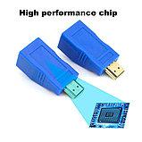 Удлинитель HDMI по витой паре (30м) EXTENDER, фото 6