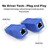 Удлинитель HDMI по витой паре (30м) EXTENDER, фото 8
