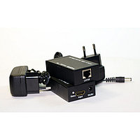 HDMI extender удлинитель по витой паре 60 метров cat-5e/6e, фото 1