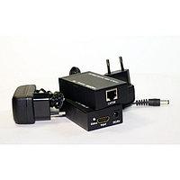 HDMI extender удлинитель по витой паре 60 метров cat-5e/6e