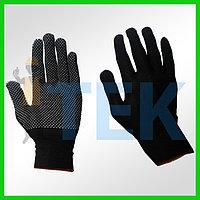 Перчатки нейлоновый с пвх точками, Рабочие перчатки оптом, Перчатки рабочие