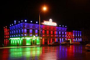 Светильники для освещения фасадов зданий