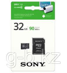 Карта памяти MicroSD 32GB Class 10 U1 Sony SR32UY3AT
