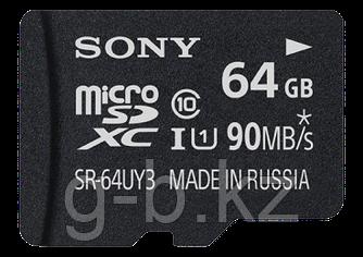 Карта памяти MicroSD 64GB Class 10 U1 Sony SR64UY3AT
