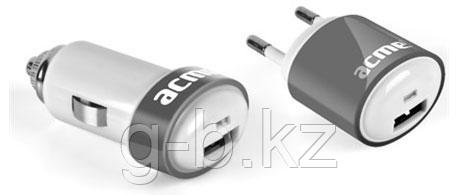 Зарядное устройство автомобильное Acme CH04 (кабель - 30 pin в комплекте)