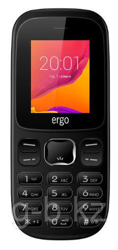 Мобильный телефон Ergo F180 черный