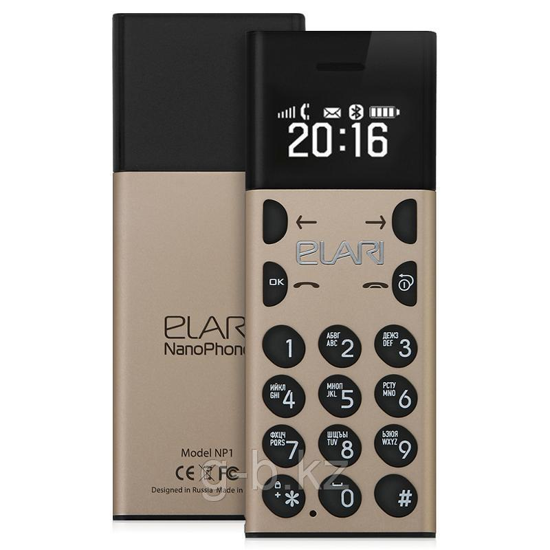 Мобильный телефон Nanophone Elari золото