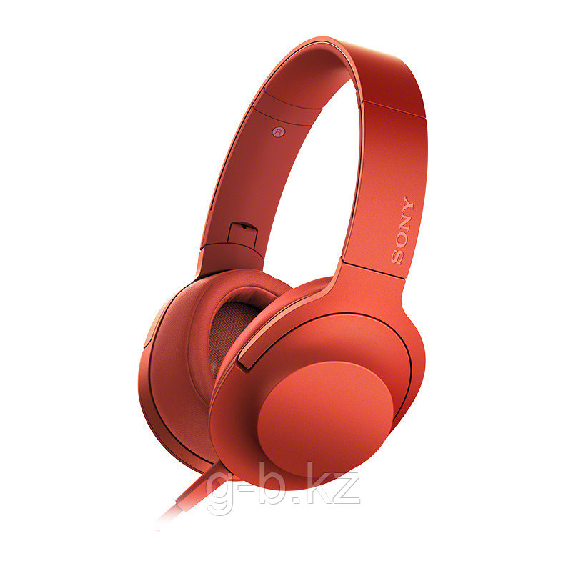 Наушники накладные Sony MDR100AAP Red