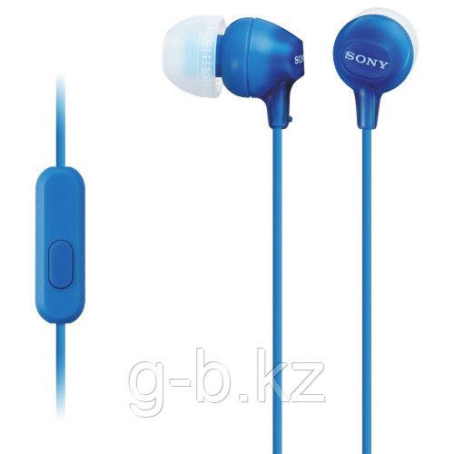 Наушники-вкладыши Sony MDREX15APLI.CE7 синий