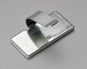 Площадки монтажные самоклеющиеся металлические с клипсой для кабеля ™Fortisflex