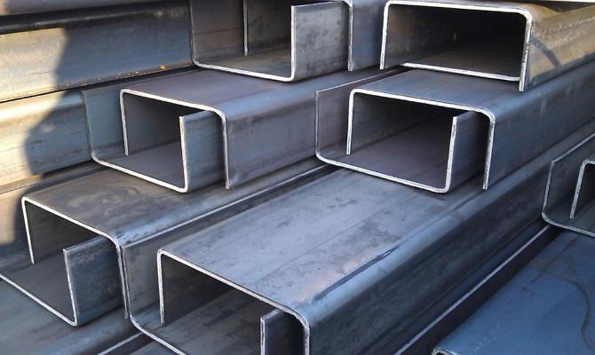 Швеллер гнутый 100х50х3 ст.09Г2С